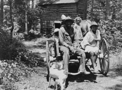 Sharecropper and Children