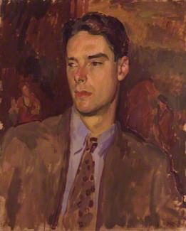 NPG 6627; Anthony Dymoke Powell by Henry Lamb