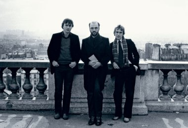 Christopher Hitchens, James Fenton and Martin Amis