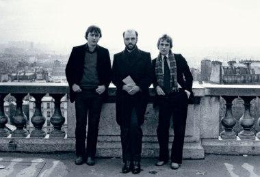 Christopher Hitchens, James Fenton and Martin Amis