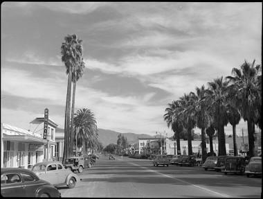 Hemet: Main Street, circa 1940.